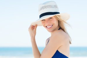 Summer is the time for special skin care.