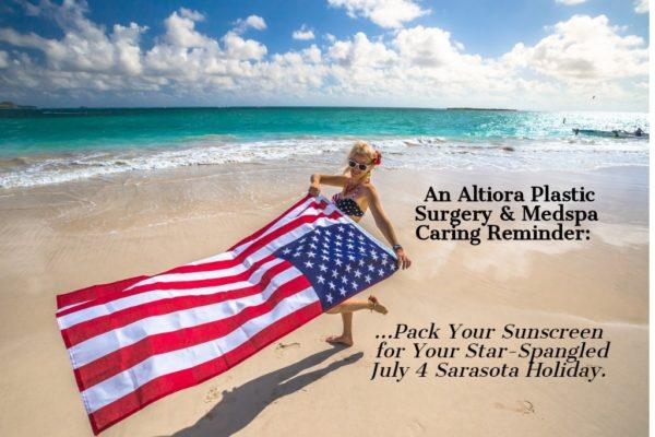 Sun Alert from Altiora Plastic Surgery in Sarasota.