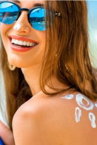 Even Star-Spangled Celebrations require sunscreen protection.
