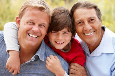 Male skin cells of any age thirst for sunscreen protection.
