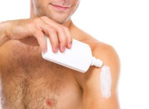 Men Need Sunscreen.